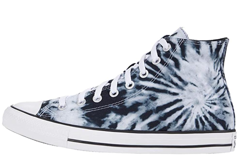 converse, tie-dye sneakers, zappos sale