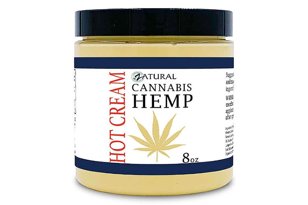Zatural Hemp Hot Cream