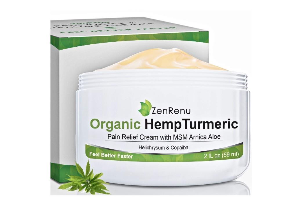 ZenRenu Hemp Pain Relief Cream