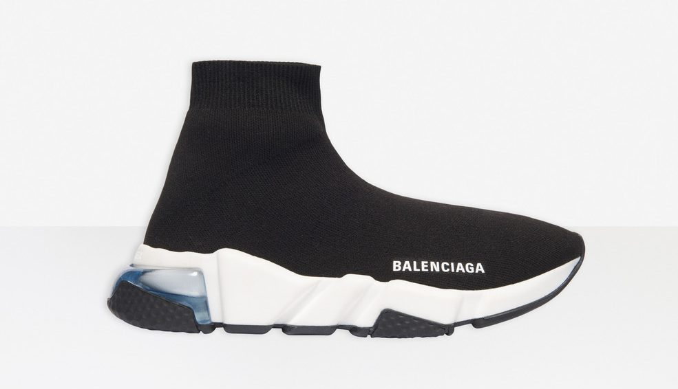 Balenciaga Speed Trainer Clear Sole