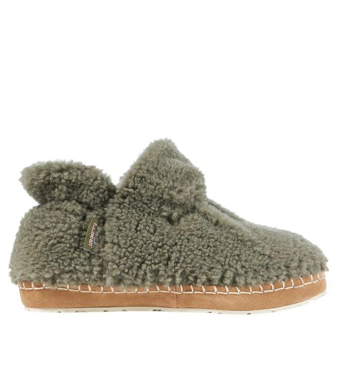 LL Bean bootie slippers