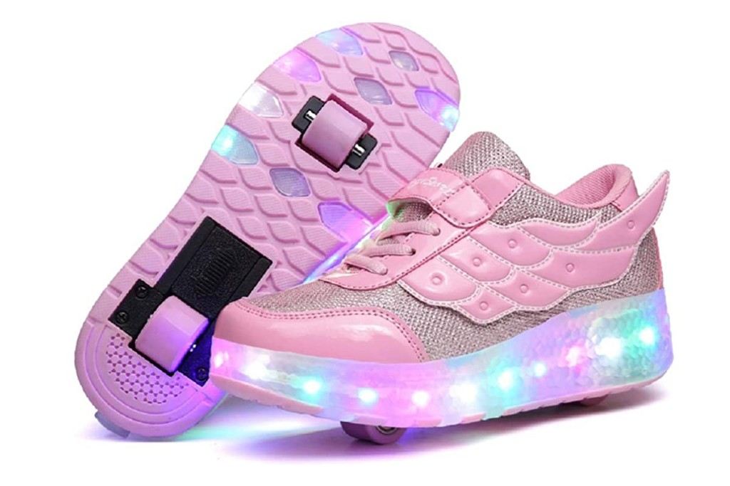 Nsasy Kids Roller Shoes, girls shoes with wheels