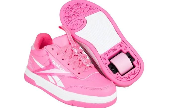 heelys x reebok, wheeled shoes for girls