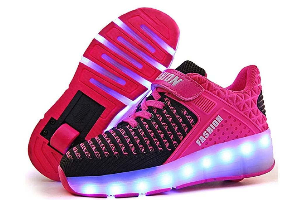 Ylllu Kids Roller Shoes, best girls wheeled shoes