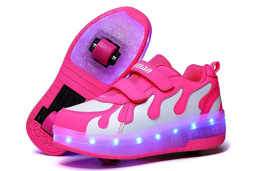 AIkuass Roller Shoes, wheeled shoes for girls
