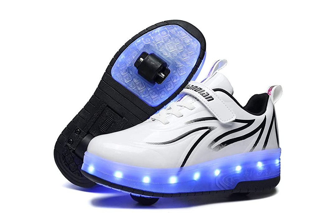 Bfoel Spider Roller Shoes, girls wheeled shoes