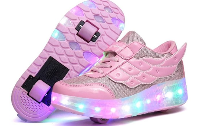 Nsasy Kids Roller Shoes, wheeled shoes for women