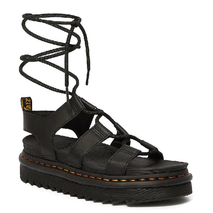 Dr. Martens Nartilla Leather Gladiator Sandals, gladiator sandals
