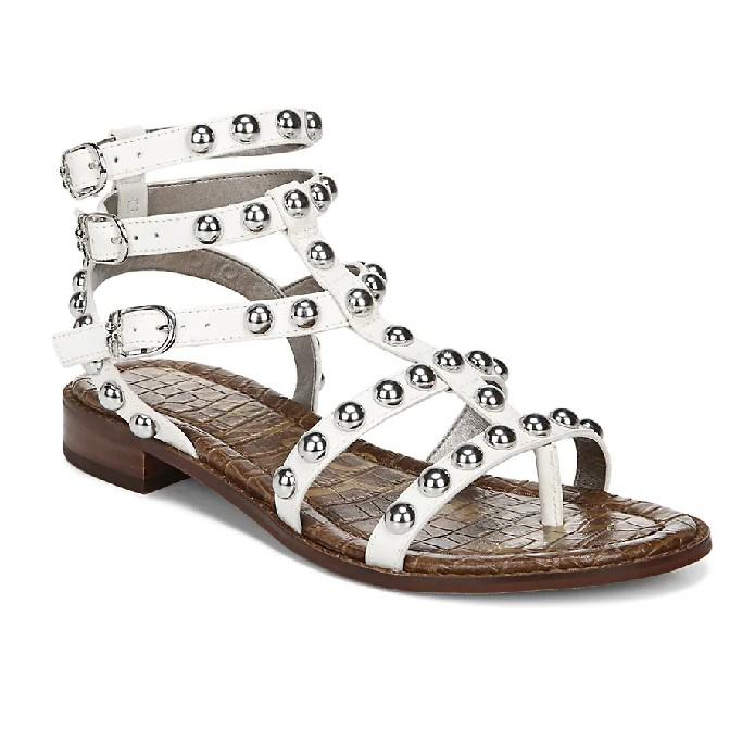 Sam Edelman Eaven Studded Leather Gladiator Sandals, gladiator sandals