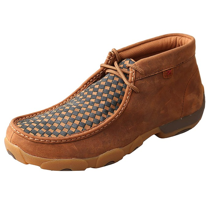 Twisted X Chukka Driving Moc, leather moccasins for men