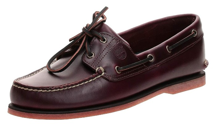 timberland, men's leather moccasins