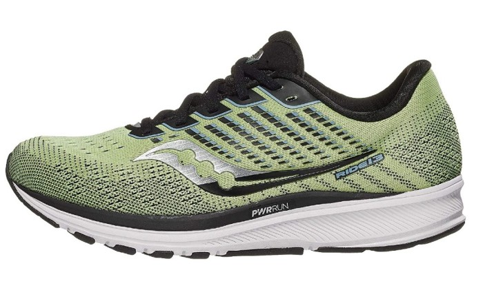 Saucony Ride 13 neutral running shoe, men's running shoes