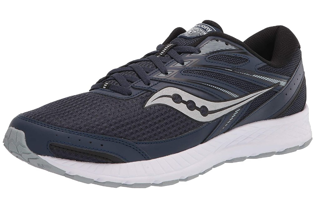 men's standard width walking shoes, Saucony Cohesion 13 Walking Shoe