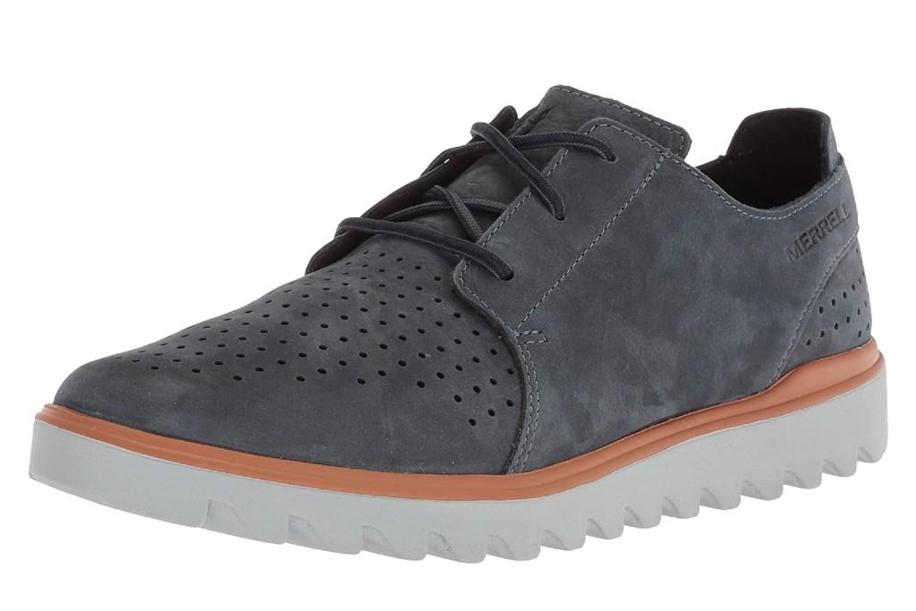 men's standard width walking shoes, Merrell Downtown Lace Sneaker