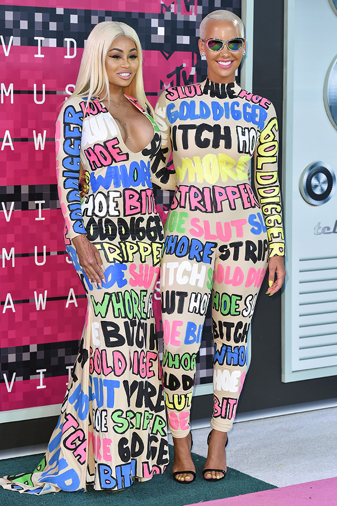 Blac Chyna and Amber RoseMTV Video Music Awards, Arrivals, Los Angeles, America - 30 Aug 2015