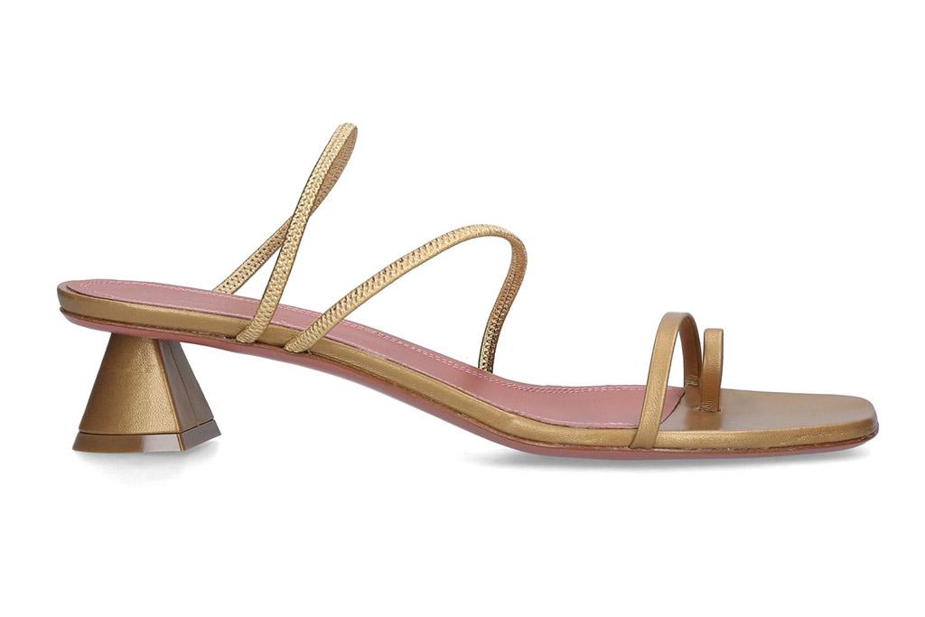 Harrods, amina muaddi, naima, gold sandals