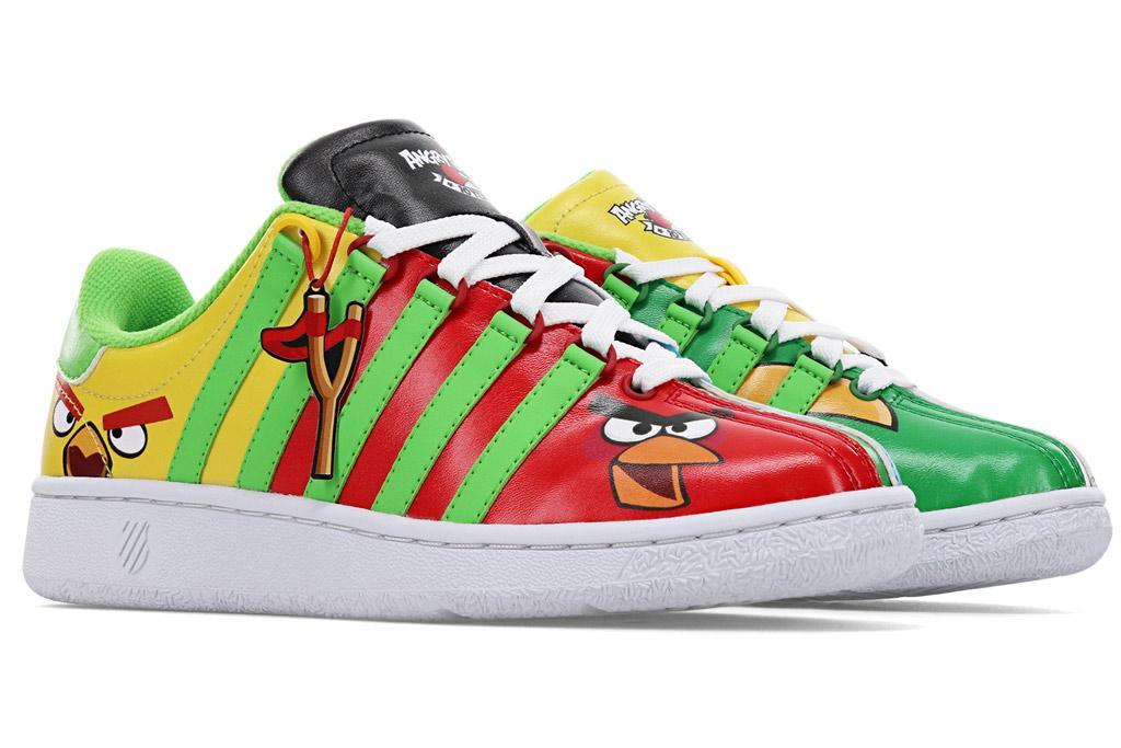 Angry Birds, k-swiss, sneakers, Classic VN, gen 1,