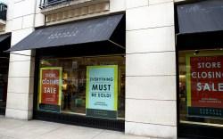 Barneys New York store closing