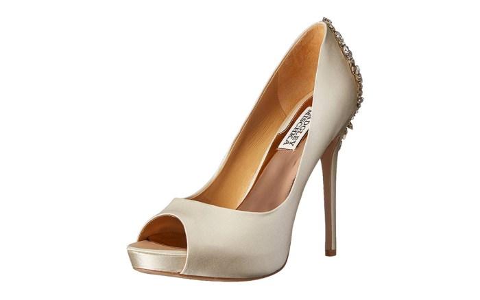 best-satin-wedding-heels