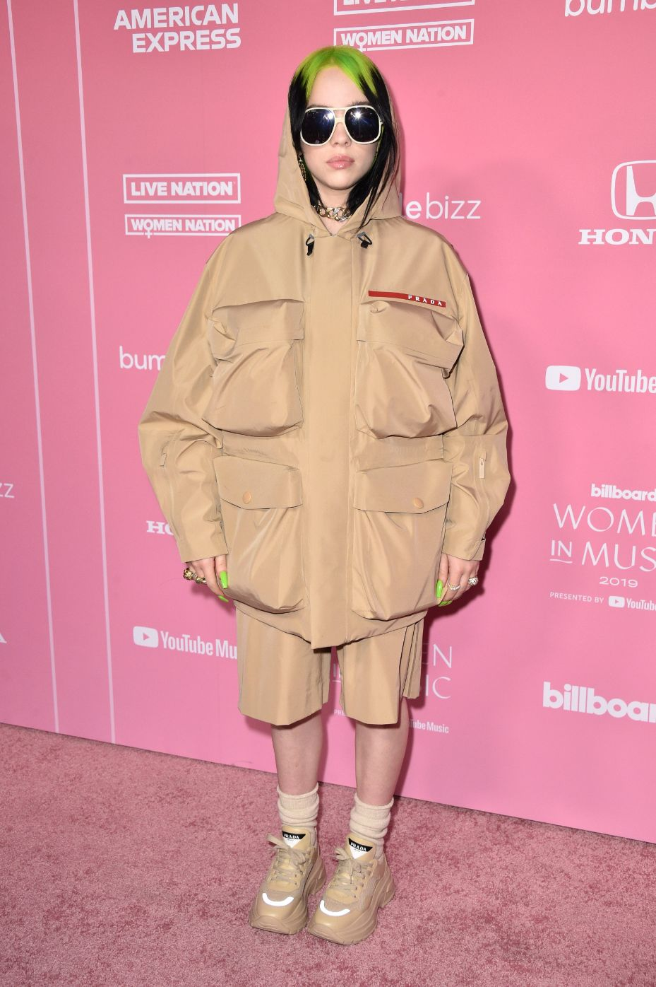 billie eilish, prada, billboard