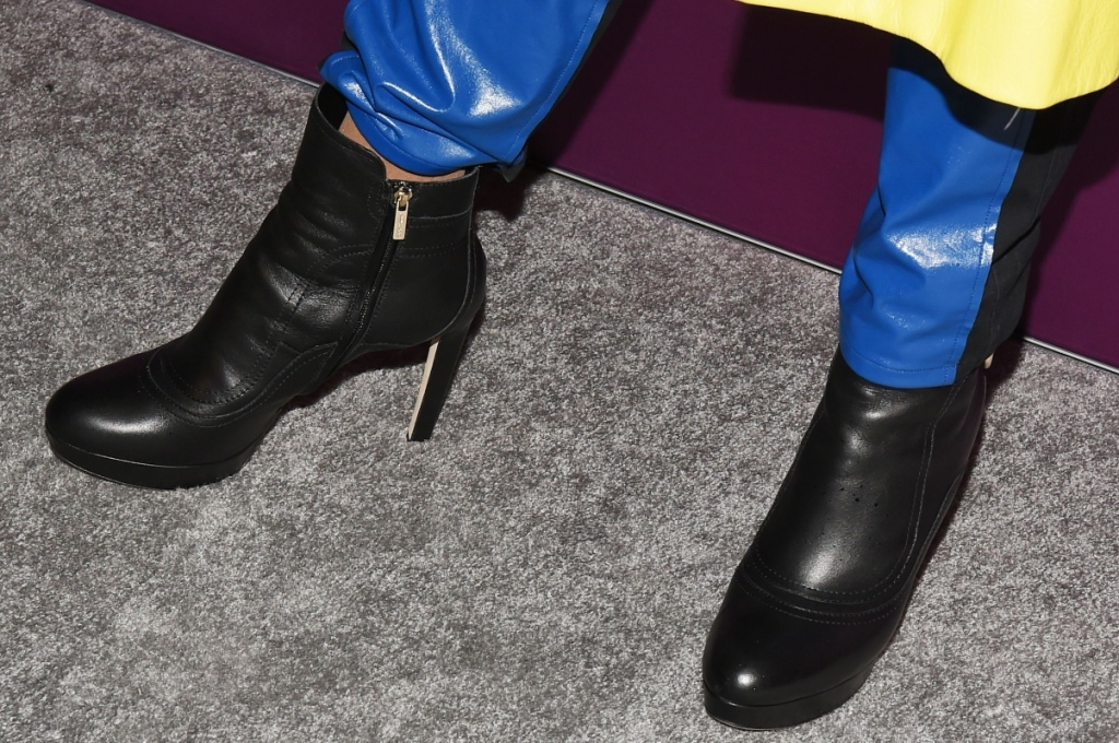 Billy Porter, fnaas, celebrity style, red carpet, heels, boots, fn achievement awards