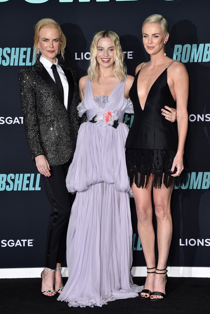 Nicole Kidman, Margot Robbie and Charlize Theron'Bombshell' film premiere, Arrivals, Regency Village Theatre, Los Angeles, USA - 10 Dec 2019