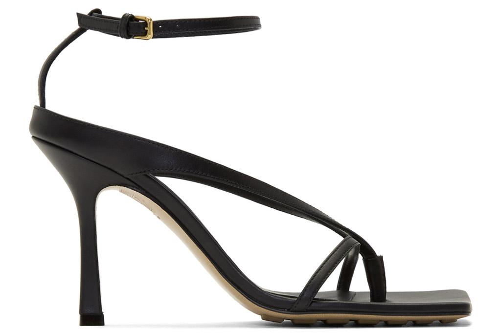 Bottega Veneta, square toe sandals