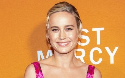 Brie Larson, celebrity style, just mercy,
