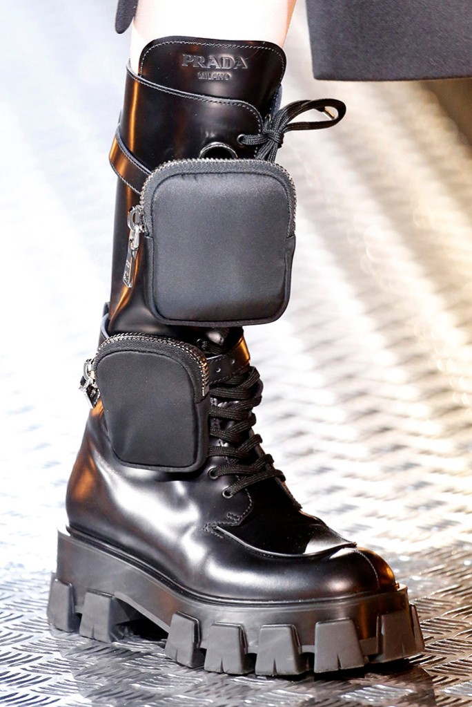 Prada fall '19 Fall Footwear Trends 2019 into combat