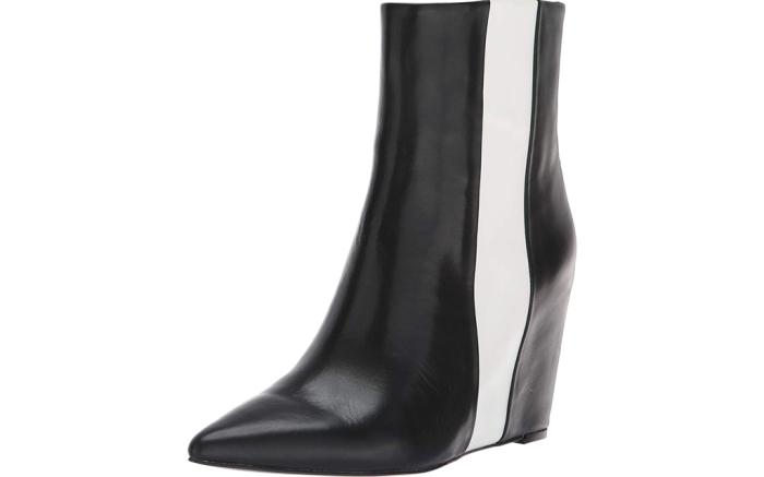 calvin klein hidden wedge booties
