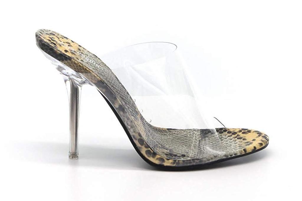 cape robbin clear heel