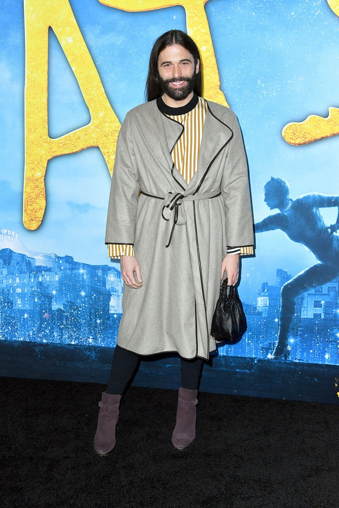 Jonathan Van Ness'Cats' film world premiere, Arrivals, Alice Tully Hall at Lincoln Center, New York, USA - 16 Dec 2019