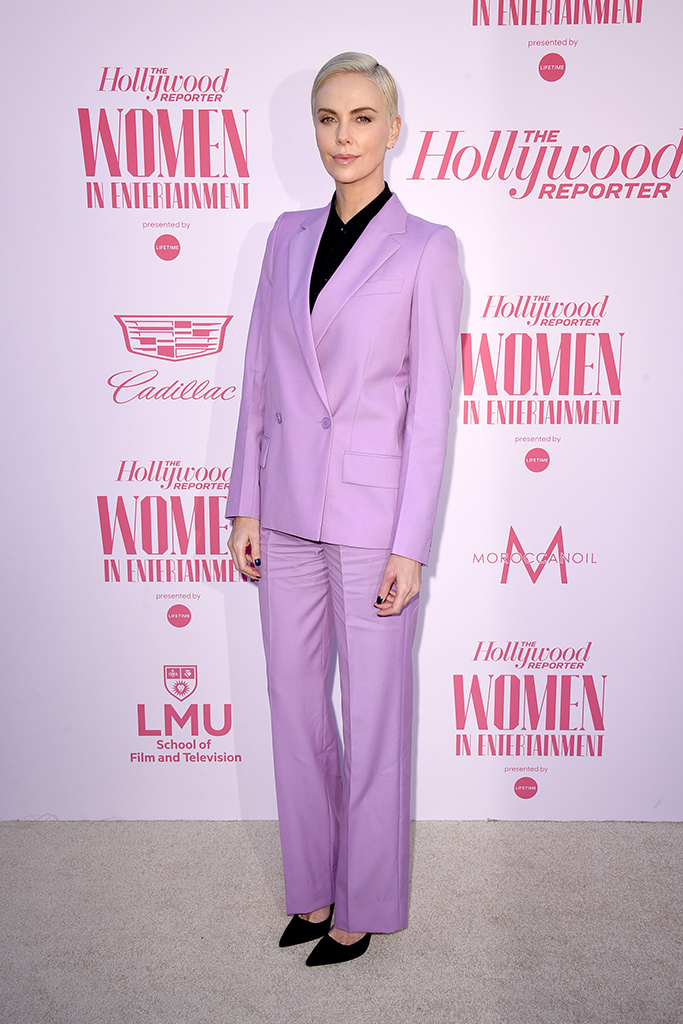 Charlize TheronThe Hollywood Reporter's 'Women in Entertainment' Gala, Arrivals, Milk Studios, Los Angeles, USA - 11 Dec 2019Wearing Givenchy