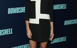 Charlize Theron's 'Bombshell' Press Tour Style