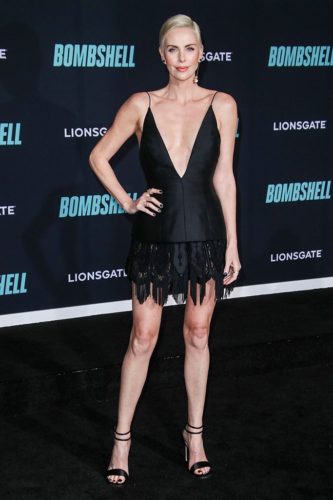 Charlize Theron'Bombshell' film premiere, Arrivals, Regency Village Theatre, Los Angeles, USA - 10 Dec 2019Wearing Dior