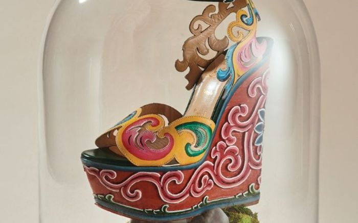 christian, louboutin, bhutan, couture, collection, one, of, a, kind, shoe, of, the, week
