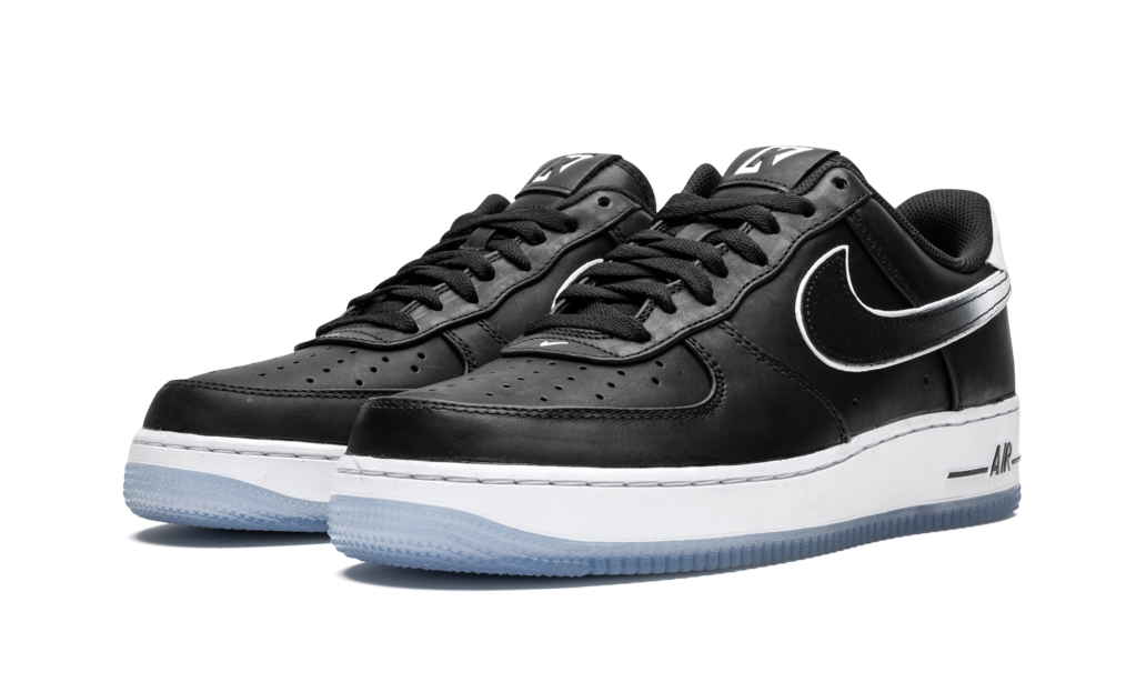 Colin Kaepernick x Nike Air Force 1 Low, AF1 shoes, sneakers, black and white