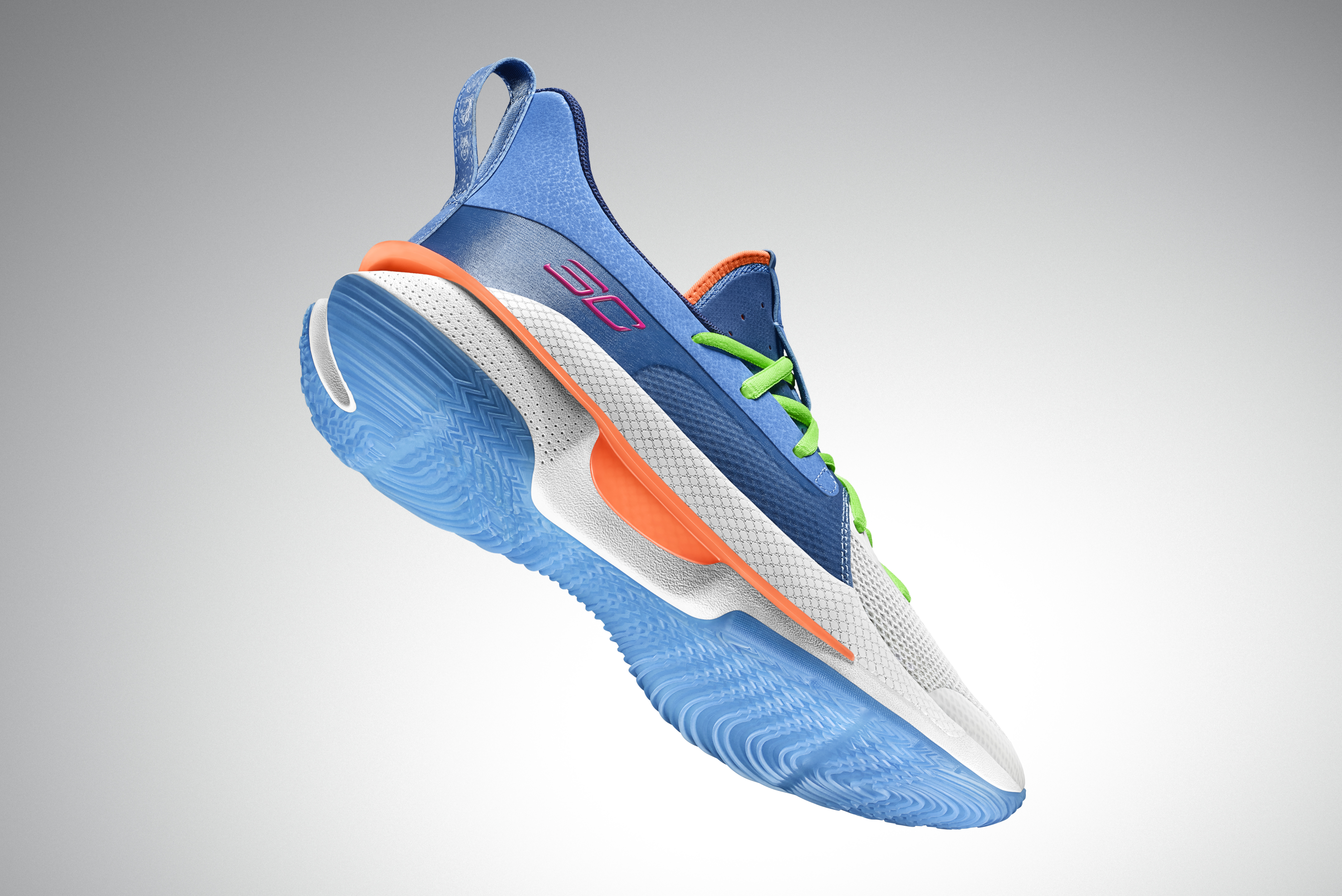 Under Armour Curry 7 'Nerf Super Soaker