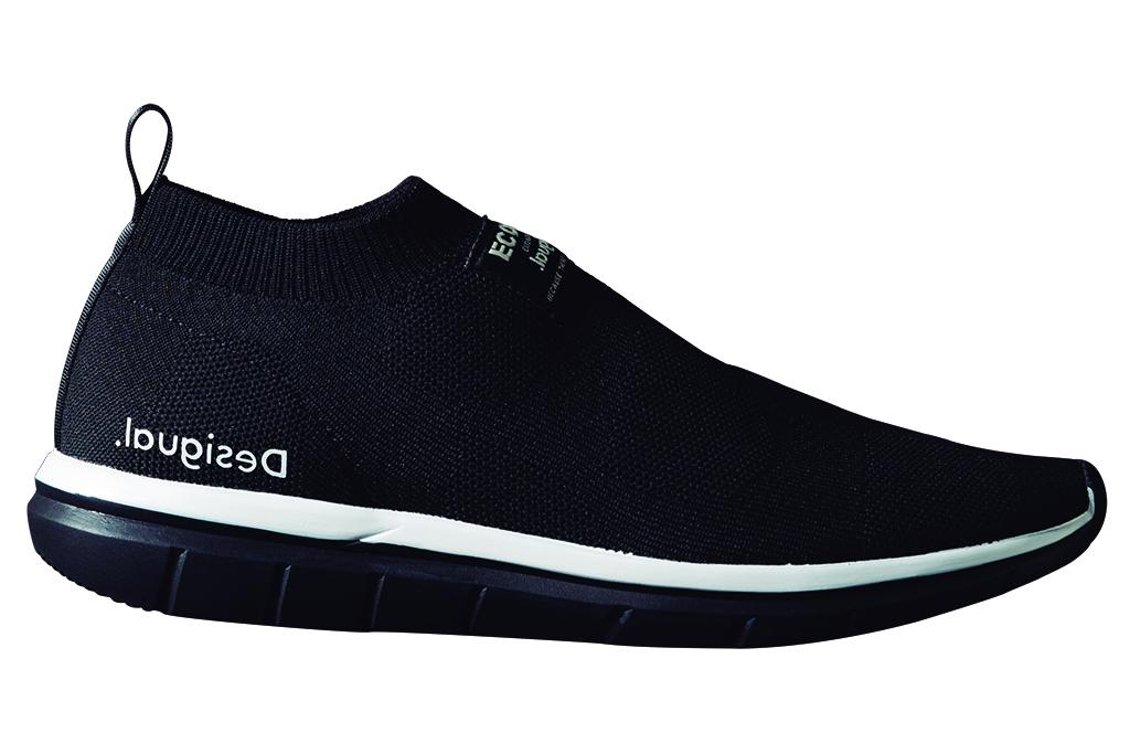 desigual, ecoalf, recycled sneaker, shoe