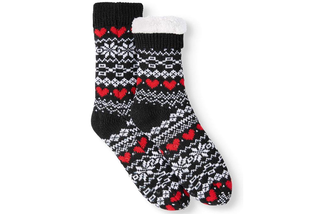 ED by Ellen DeGeneres, holiday, slipper socks