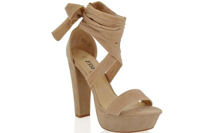 essex glam platform sandals
