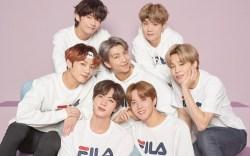 BTS, fila, ad campaign, k-pop, boy