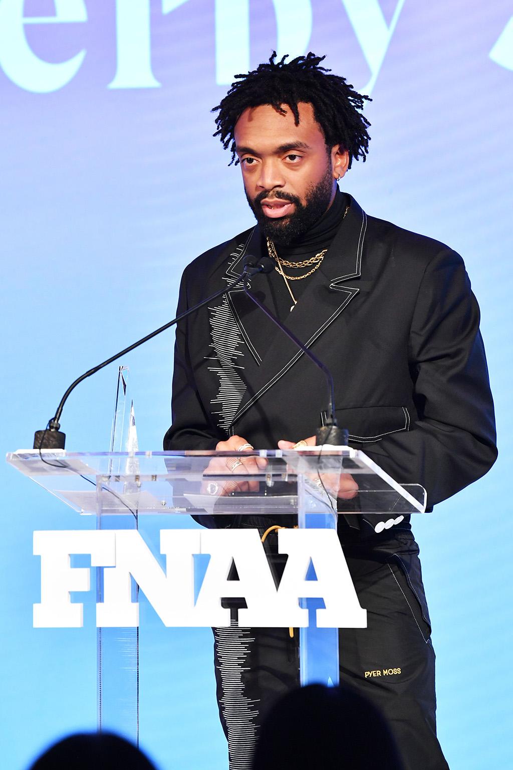 Kerby Jean-Raymond33rd Annual Footwear News Achievement Awards, Inside, New York, USA - 03 Dec 2019