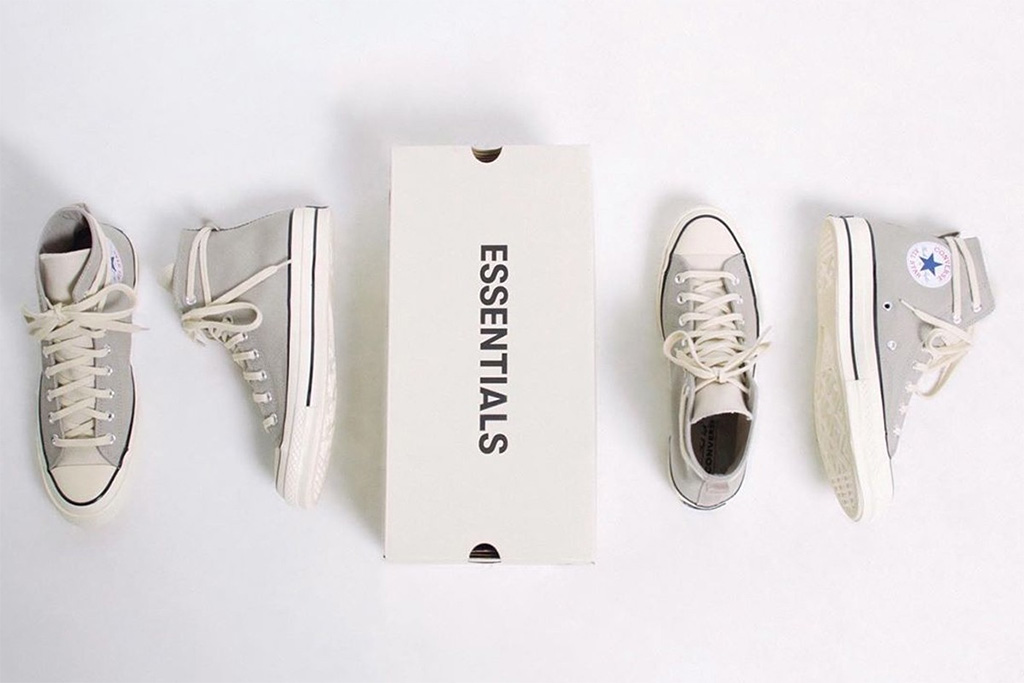 Converse x Fear of God Essentials Chuck 70, converse, fear of god, sneakers, chuck 70