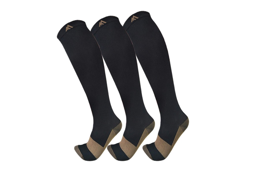 FuelMeFoot Copper Compression Socks