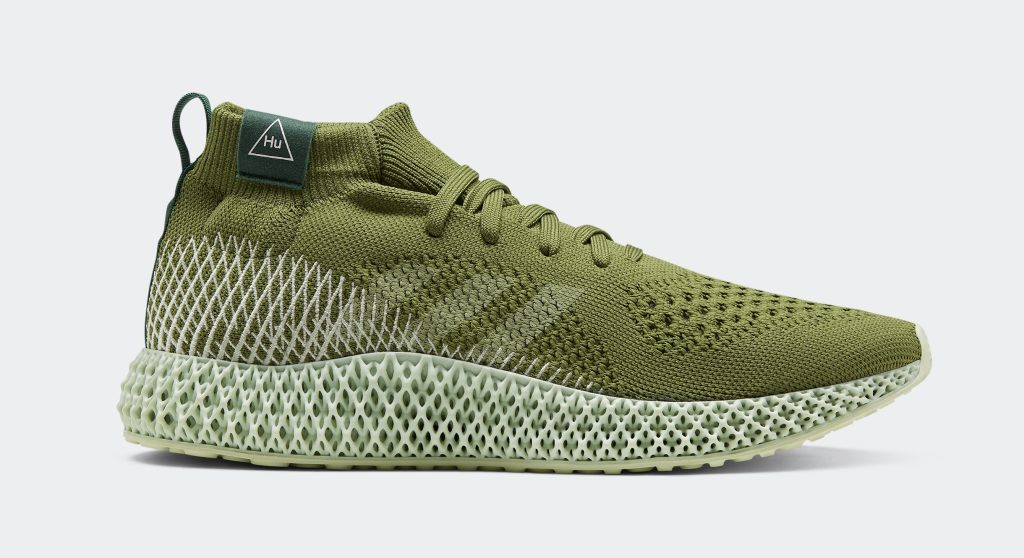 Pharrell Adidas 4D Runner 'Tech Olive'