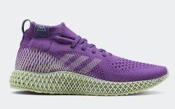 Pharrell Adidas 4D Runner 'Active Purple'
