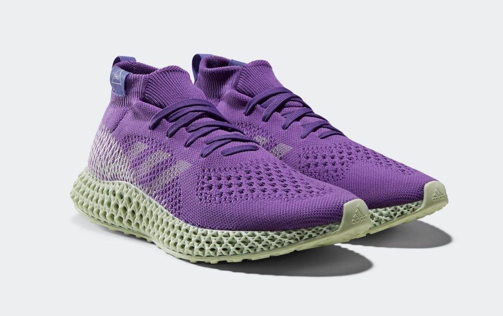 Pharrell Adidas 4D Runner 'Active Purple'