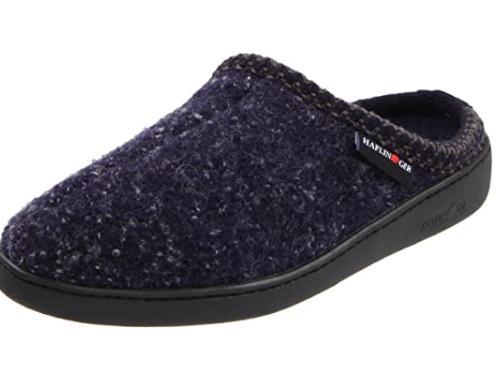 Haflinger wool women's slippers