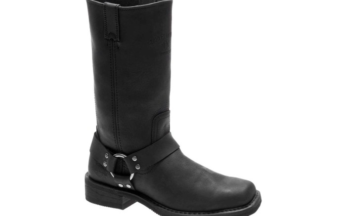 harley davidson footwear bowden harness boot